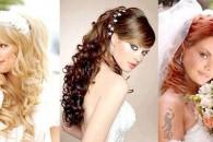 Модні весільні зачіски 2013