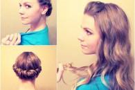 4 Речі накрутити волосся без плойки, бігуді, прасування і фена