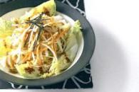Салат з пекінської капусти з кунжутом