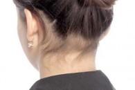 Як зробити зачіску пучок з косою